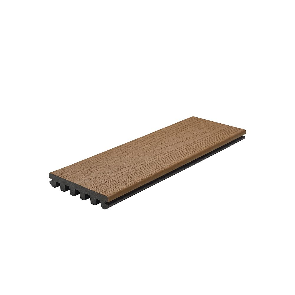Trex 20 Ft. - Enhance Composite Capped Grooved Decking - Beach Dune