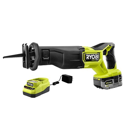 18V ONE+ HP Brushless Reciprocating Saw Kit with 4.0 Ah HP Battery and Charger