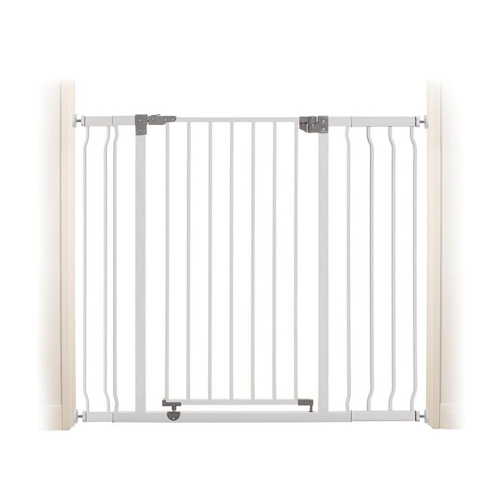 Dreambaby Liberty Xtra-Tall & Xtra-Wide Security Gate (Incl. 1 x 3.5 inch & 1 x 7 inch Extensions) - White