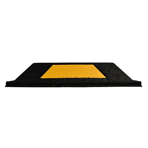 Secure Park 20-inch parking curb with yellow reflector (2-Pack)