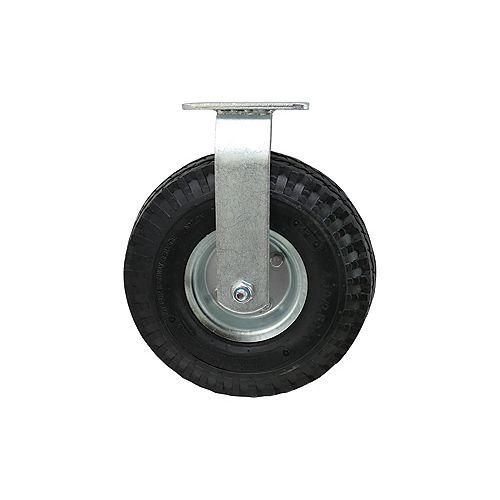 16 inch Designer Caster Chrome Spokes Soft Rubber Tread, 4 per box
