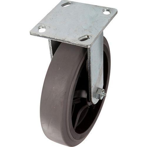 50 inch Designer Caster Chrome Spokes Soft Rubber Tread, 4 per box