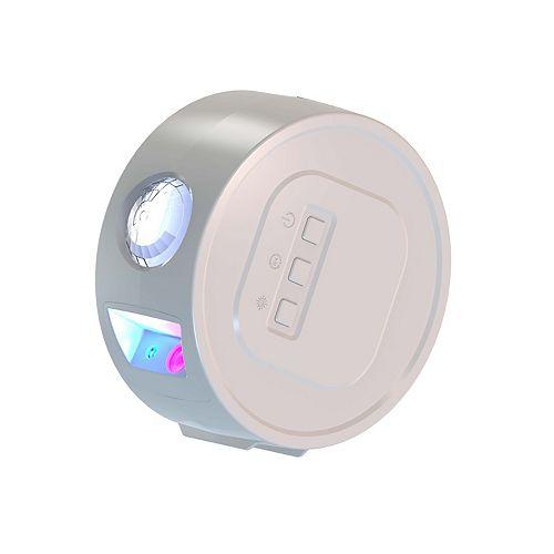 Aura 9.86-po Blanc LED Lampe Galaxie