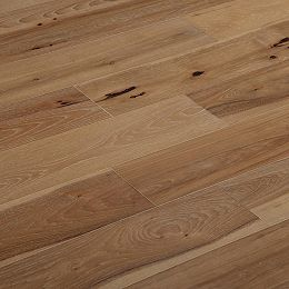 XXL White 3/8-inch T x 7.5-inch W x Varying L Engineered Hardwood Flooring (19.43 sq. ft. /case)