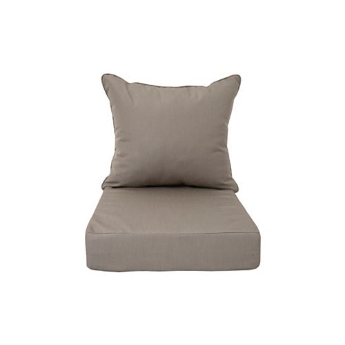 Sunbrella Deep Seating Cushion Taupe