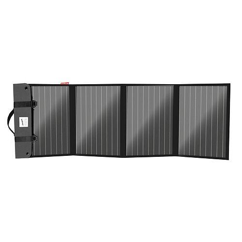 Arc Solar 120   120W Foldable, Portable Monocrystalline Solar Panel with Integrated USB