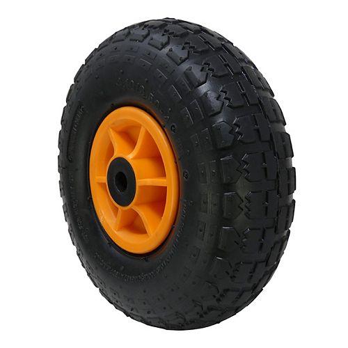 Wheel Rubber Orange Hub, Set of 2