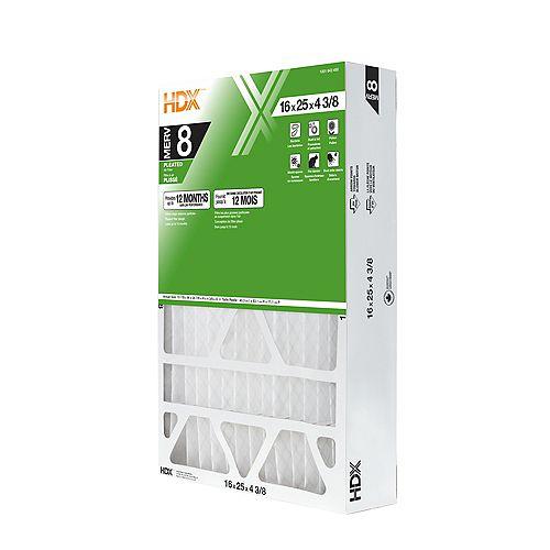 16-inch x 25-inch x 4 3/8-inch MERV 8 Air Filter 4 Pack