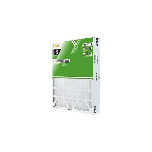 20-inch x 25-inch x 4-inch MERV 8 Air Filter 4 Pack