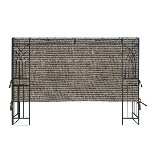 APEX GARDEN 10 ft. Polyethylene PE Privacy Panel (1-Sided Wall Panel Only, 2/3 Length)