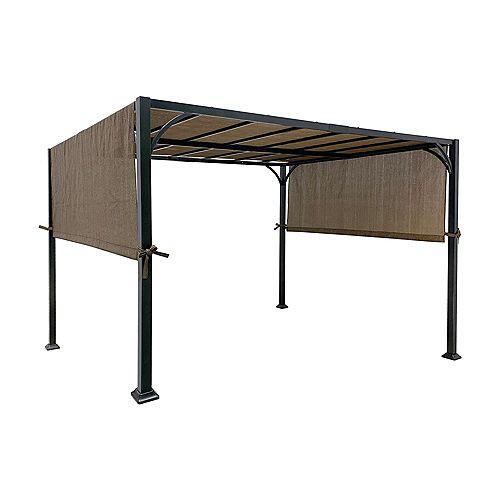 "Universal PE Pergola Canopy Top for 8 ft x 10 ft Pergola - Brown (Size: 196"" x 88"") (Polyethylene)"