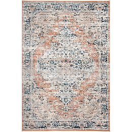 Piper Shaded Snowflakes Beige 8 ft. 10 in. x 12 ft. Indoor Area Rug