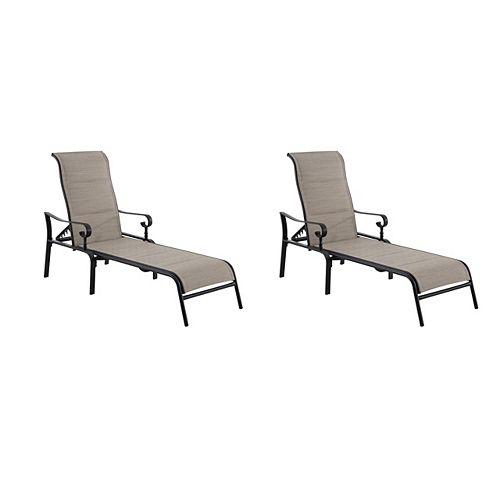 Glenridge Falls 2pk Chaise Lounge