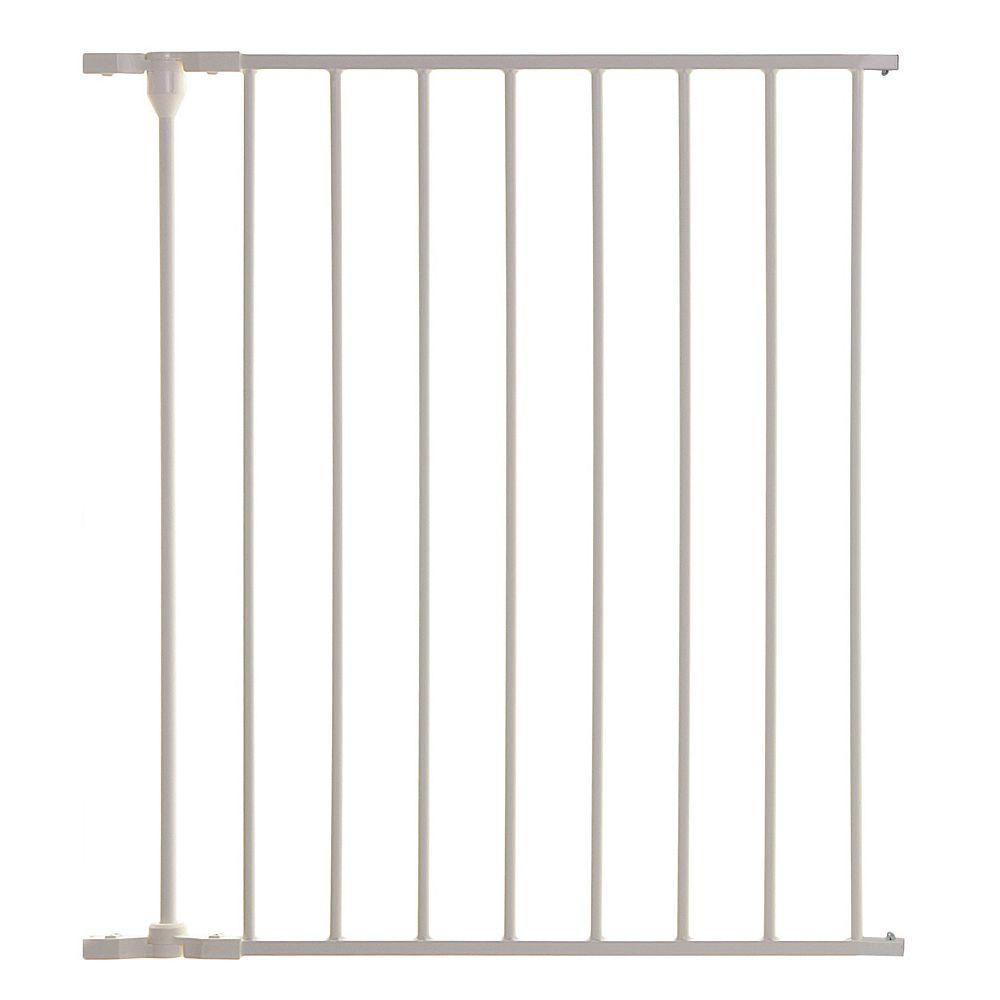 Dreambaby Newport Adapta Gate -  24 inch /57.8cm, 1 Panel Gate Extension - White
