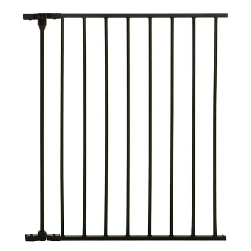 Newport Adapta Gate -  24 inch /57.8cm, 1 Panel Gate Extension - Black
