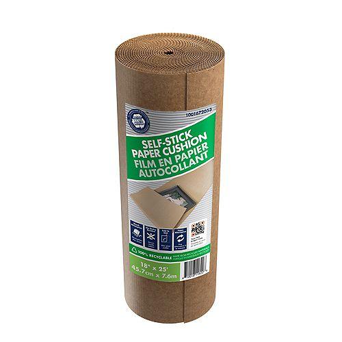 Rouleau de papier protecteur autocollant de 45,72 cm x 7,62 m
