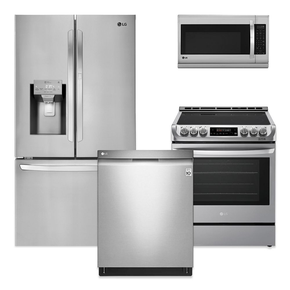 Lg Electronics Stainless Steel Kitchen Package The Home Depot Canada