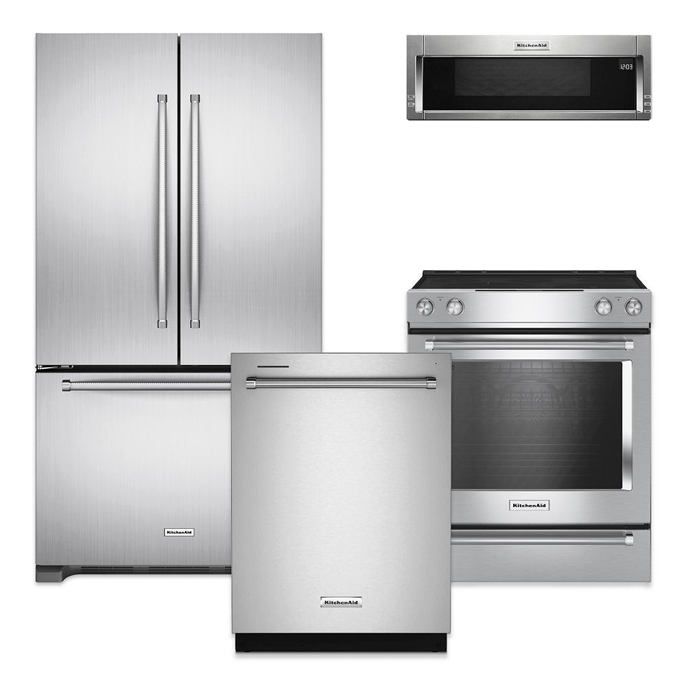 Kitchenaid Stainless Steel Kitchen Package The Home Depot Canada